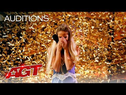 Golden Buzzer: Lea Kyle Performs Stunning Quick-Change Act - AGT 2021 #Video