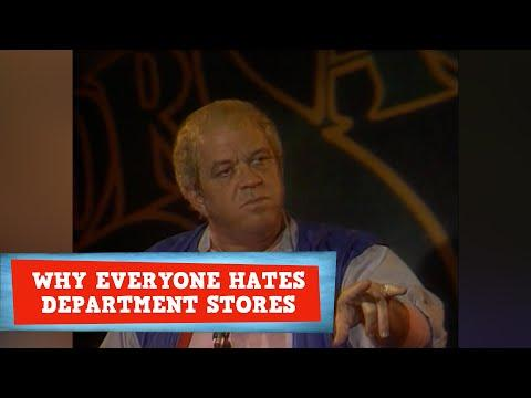 Why Everyone Hates Department Stores #Video | Comedian James Gregory