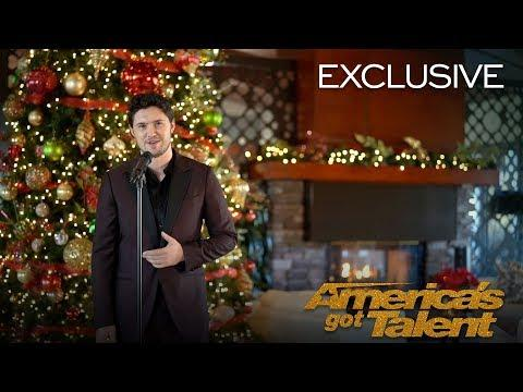 O Holy Night, A Powerful Cover By Daniel Emmet - AGT 2018