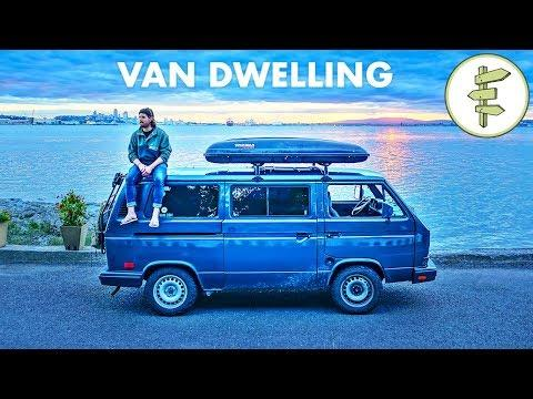 Successful 22-Year-Old Filmmaker Living in a Tiny Camper Van - vanlife