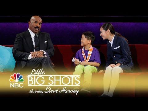 Little Big Shots - Amazing Slackline Acrobat (Episode Highlight)