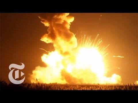 NASA Rocket Explodes On Launch