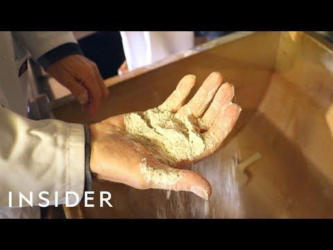 How Flour Is Made At A Traditional Watermill