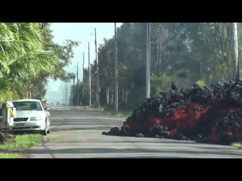 Lava Devours An Entire Car Video. Your Daily Dose Of Internet.