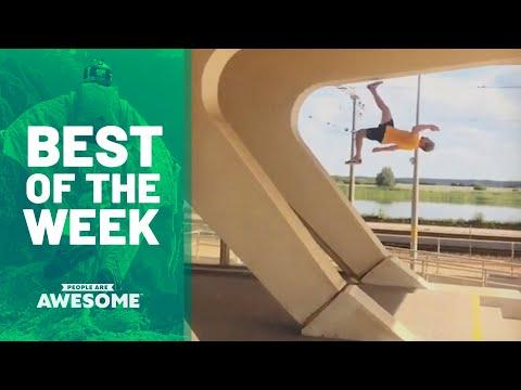 Blade Tricks, Dice Stacking, Extreme Pogo & More | Best of the Week