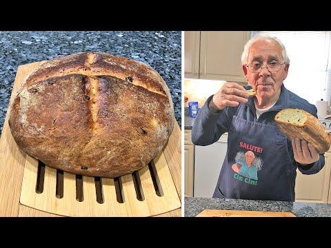 Olive Bread (Pane alle Olive Nere). OrsaraRecipes