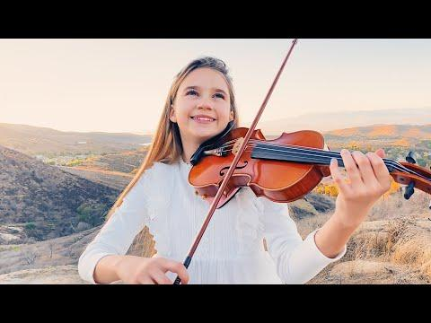 Amazing Grace | Karolina Protsenko Video | Singing and Playing Violin