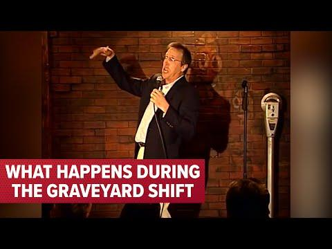 Working The 7Eleven Graveyard Shift Video | Comedian Jeff Allen