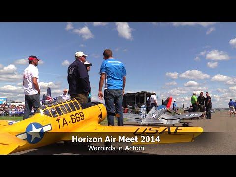 RC Scale Airplanes - Warbirds At The HORIZON AIR MEET