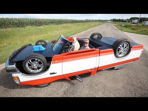 Mechanic Constructs Drivable Upside Down Truck #Video