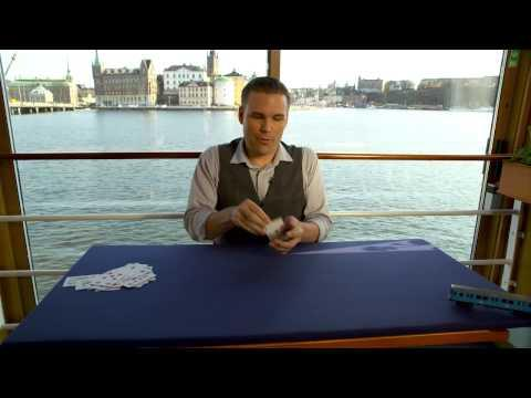 Stockholm Magic Card Trick - Its Not A Coincidence!