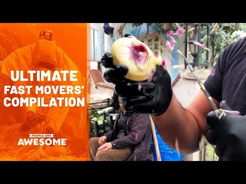 Speediest Workers & Fastest Movers Video   Ultimate Compilation