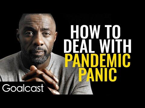 Actor Idris Elba Imparts Wisdom After Sharing COVID-19 Diagnosis | Goalcast Speech