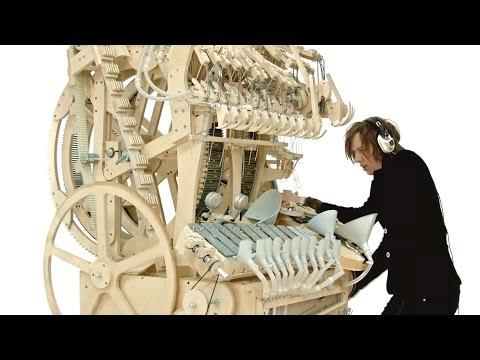 Marvelous Marble Music Machine | Using 2000 Marbles
