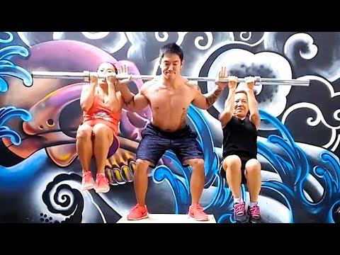 Using Humans As Free Weights And Other Boss Gym Moves | Ultimate Compilation #Video