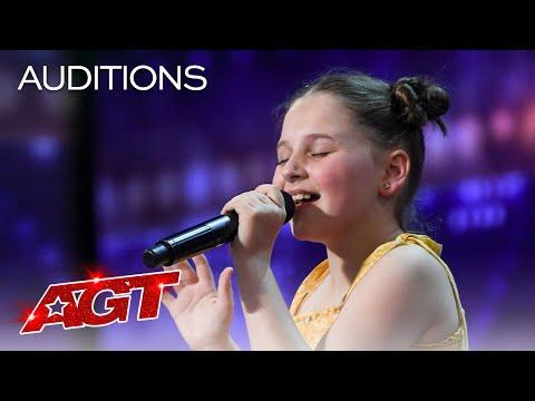 12-Year-Old Annie Jones Sings Dance Monkey by Tones and I Video - America's Got Talent 2020