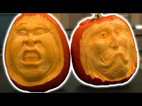 The Great Pumpkin Carver - Texas Country Reporter Video
