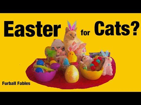 How to Celebrate Easter with Cats