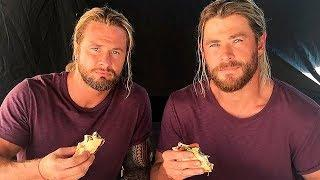 10 MARVEL ACTORS WITH THEIR STUNT DOUBLES