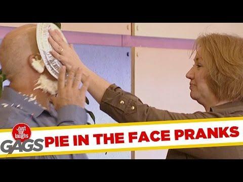 Pie In The Face Pranks