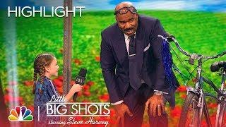 Little Big Shots - Steve Races for the Gold (Episode Highlight)