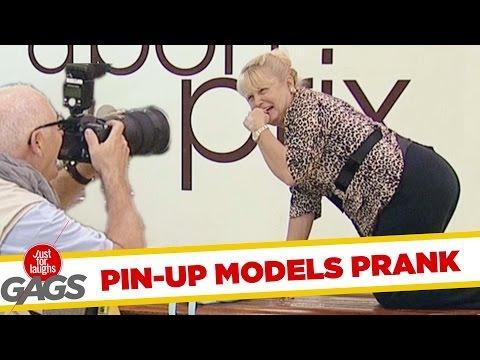 Instant Model Prank !
