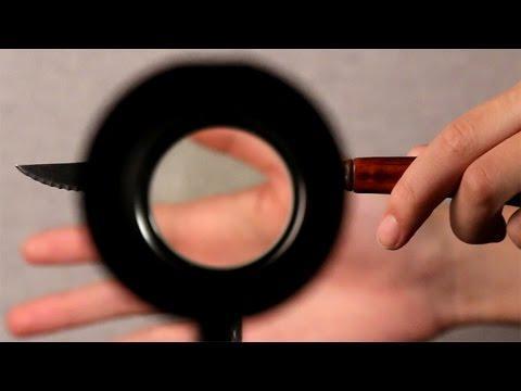 Amazing Light Bending Cloak Experiment!