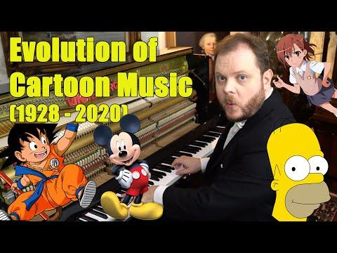 Evolution of Cartoon Music (1928 - 2020)