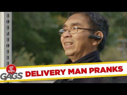 Delivery Men Get Pranked