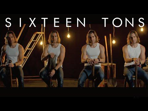 SIXTEEN TONS | Low Bass Singer Cover Video