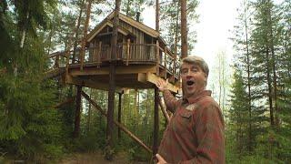 This Norwegian Viking Treehouse Is An Amazing Lakeside Retreat!
