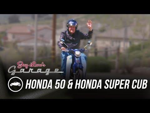 Honda 50 and Honda Super Cub - Jay Leno's Garage