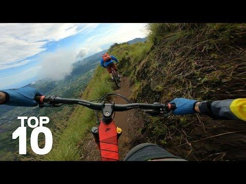 Jaw Dropping Top 10 Mountain Bike Moments.