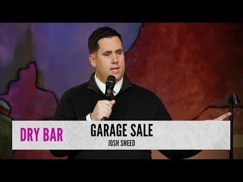 Weird People At Garage Sales. Comedian Josh Sneed