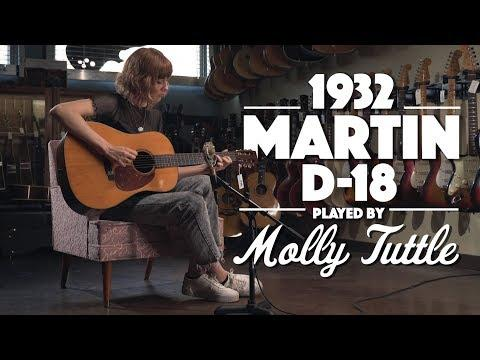 Molly Tuttle plays the 2nd D-18 ever made!