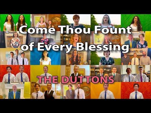 Happy Easter! First Worldwide Dutton Virtual Choir - Come Thou Fount
