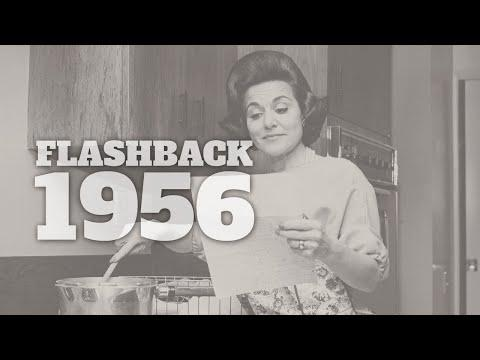 Flashback to 1956 - A Timeline of Life in America #Video