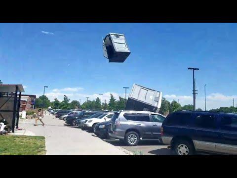 Flying Porta Potties. Your Daily Dose Of Internet