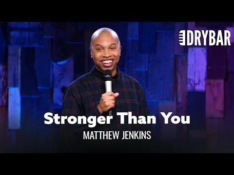 Everyone At The Gym Is Stronger Than You. Comedian Matthew Jenkins Video