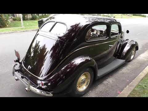 1937 Ford Tudor Sedan 'Cabernet 37' Stunning Resto-Rod #Video