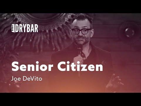 Senior Citizen Parents. Comedian Joe DeVito
