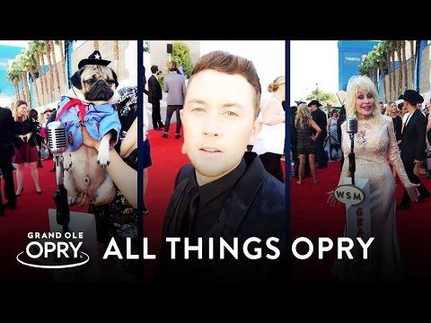 2016 ACM Awards: OPRYSNAPS On The Red Carpet | All Things Opry | Opry