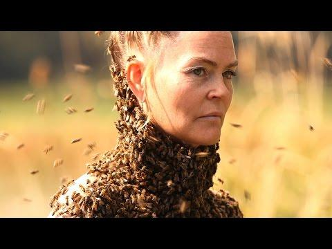 She Dances With 10,000 Bees On Her Body