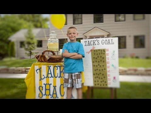11-Year-Old Sells Lemonade To Buy Wheelchairs For Others