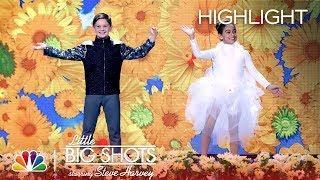 Little Big Shots - She Flies, He Flips! (Episode Highlight)