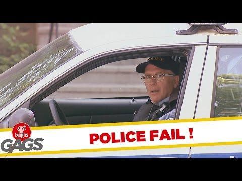 Biggest Cop FAIL Prank
