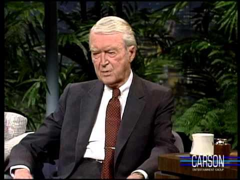 Jimmy Stewart Jokes about New Year's Resolutions and Flying, Johnny Carson 1989