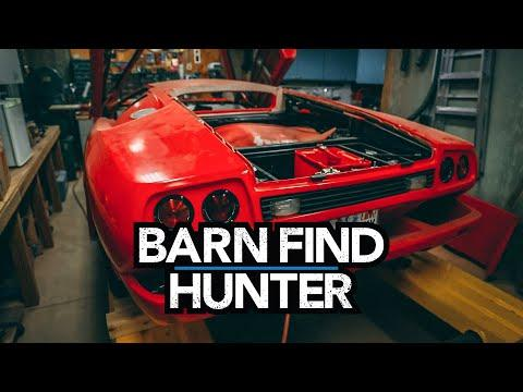 Lamborghini kit car and unique Pre-war cars hidden in a basement | Barn Find Hunter - Ep. 73