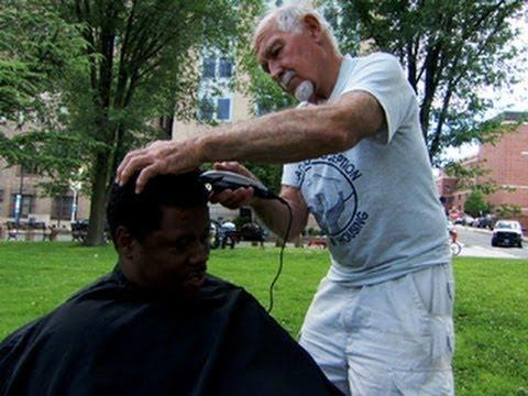 On The Road: Haircuts For The Homeless