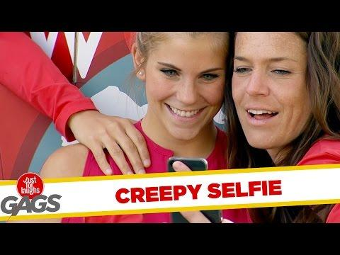 Creepy Hand Reaches Out For Selfie !